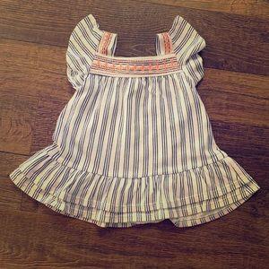 💕✨ Baby Girl Blue Stripe Summer Dress✨💕